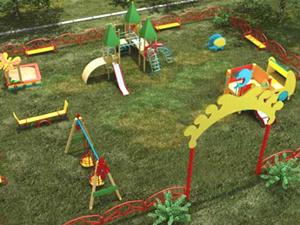 Игровые элементы для детской площадки своими руками