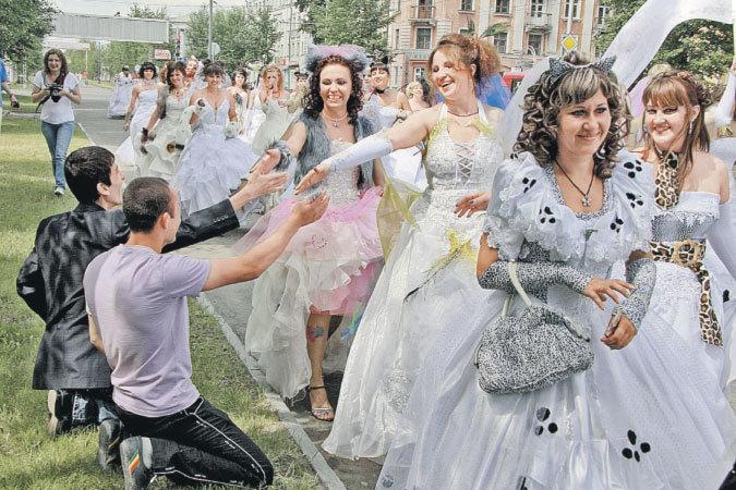 Русскими невестами с знакомство