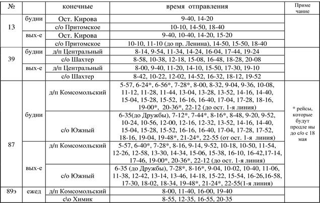 Расписание автобусов кемерово 17 а