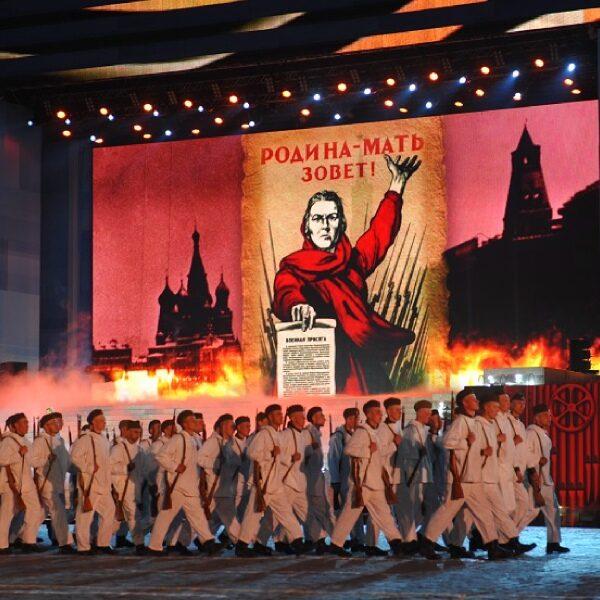 Концерт 9 мая на Красной площади