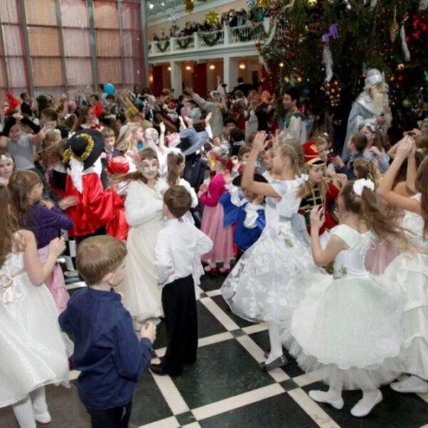 Новый год в музее Пушкина