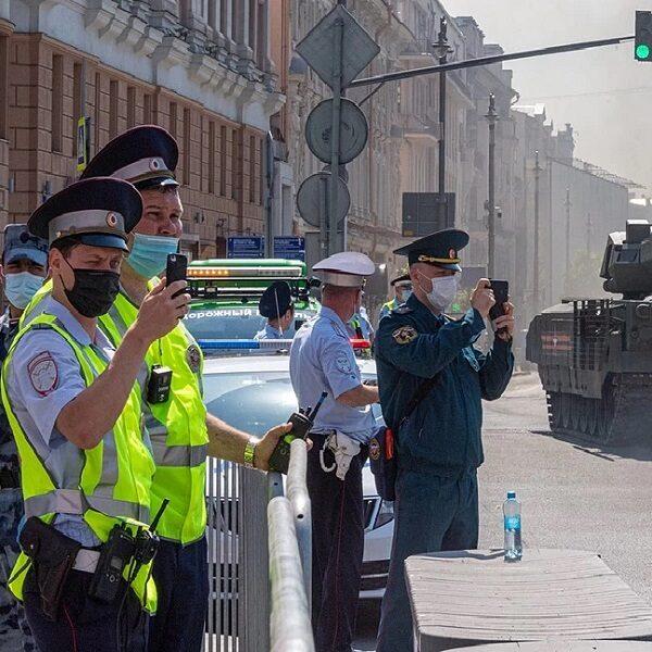 Перекрытие дорог в Москве на 1 мая