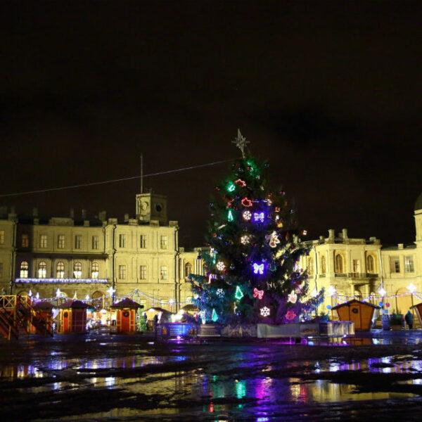 Рождественская ярмарка в Гатчине