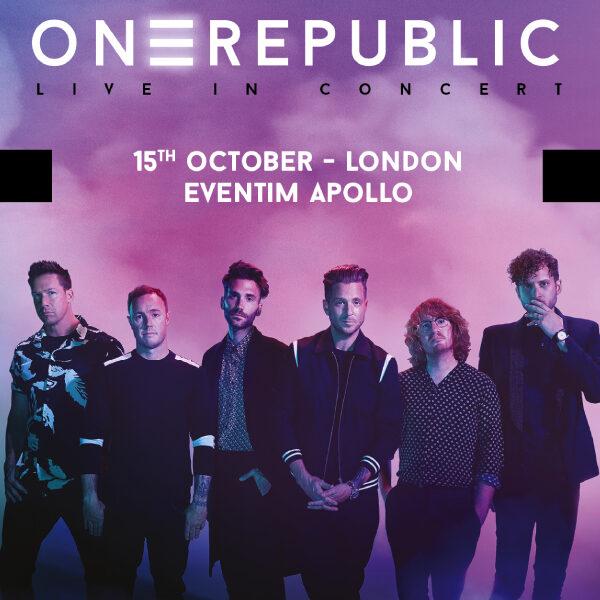 Концерт OneRepublic: презентация пятого альбома в рамках европейского тура