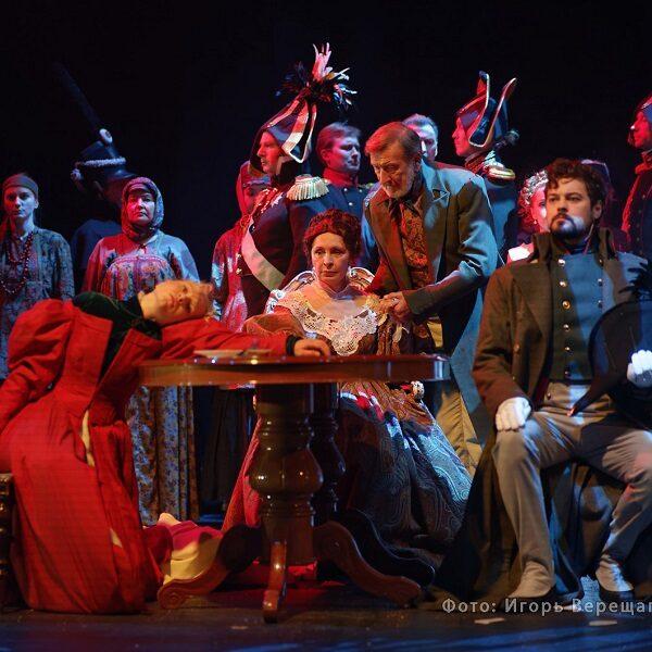 Спектакль «Война и мир»: гастроли Театра «Модерн» Юрия Грымова