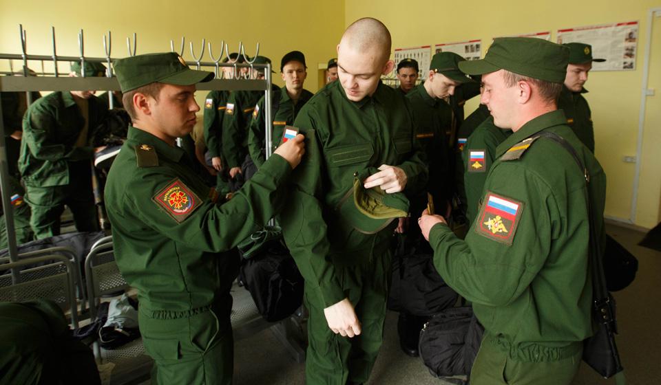 Весенний призыв 2018 в армию России