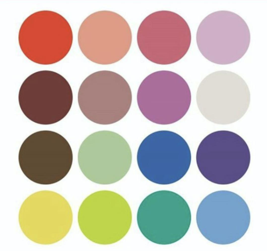 Самые приятные цвета для людей
