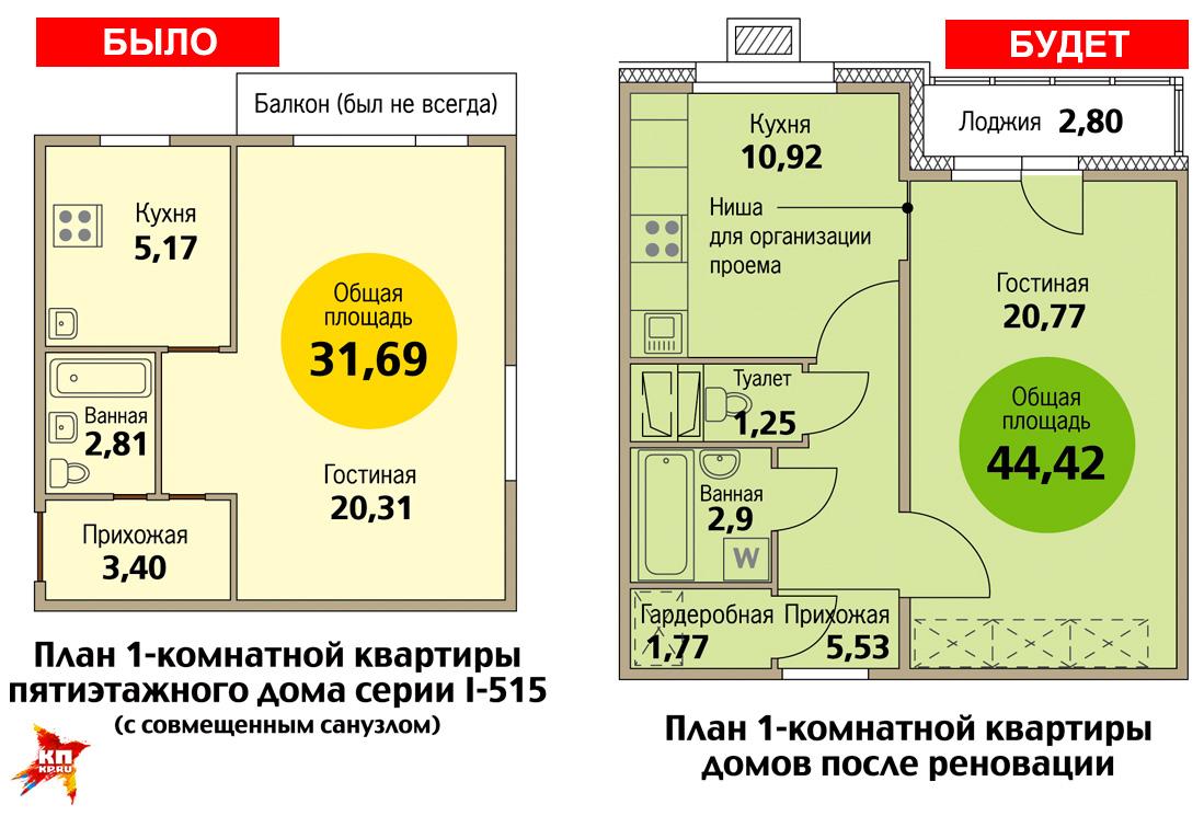 Схемы квартир новостроек