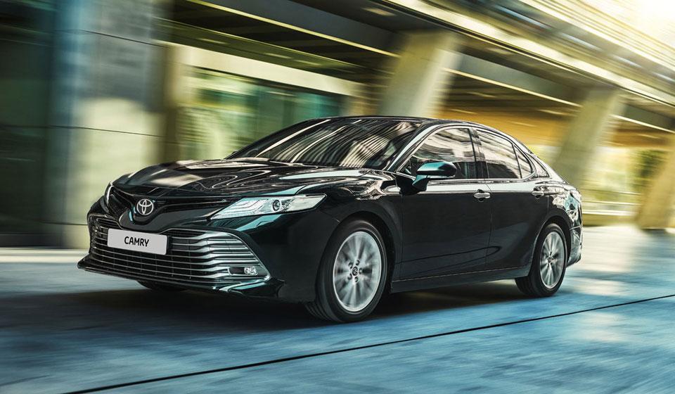 Экстерьер Toyota Camry
