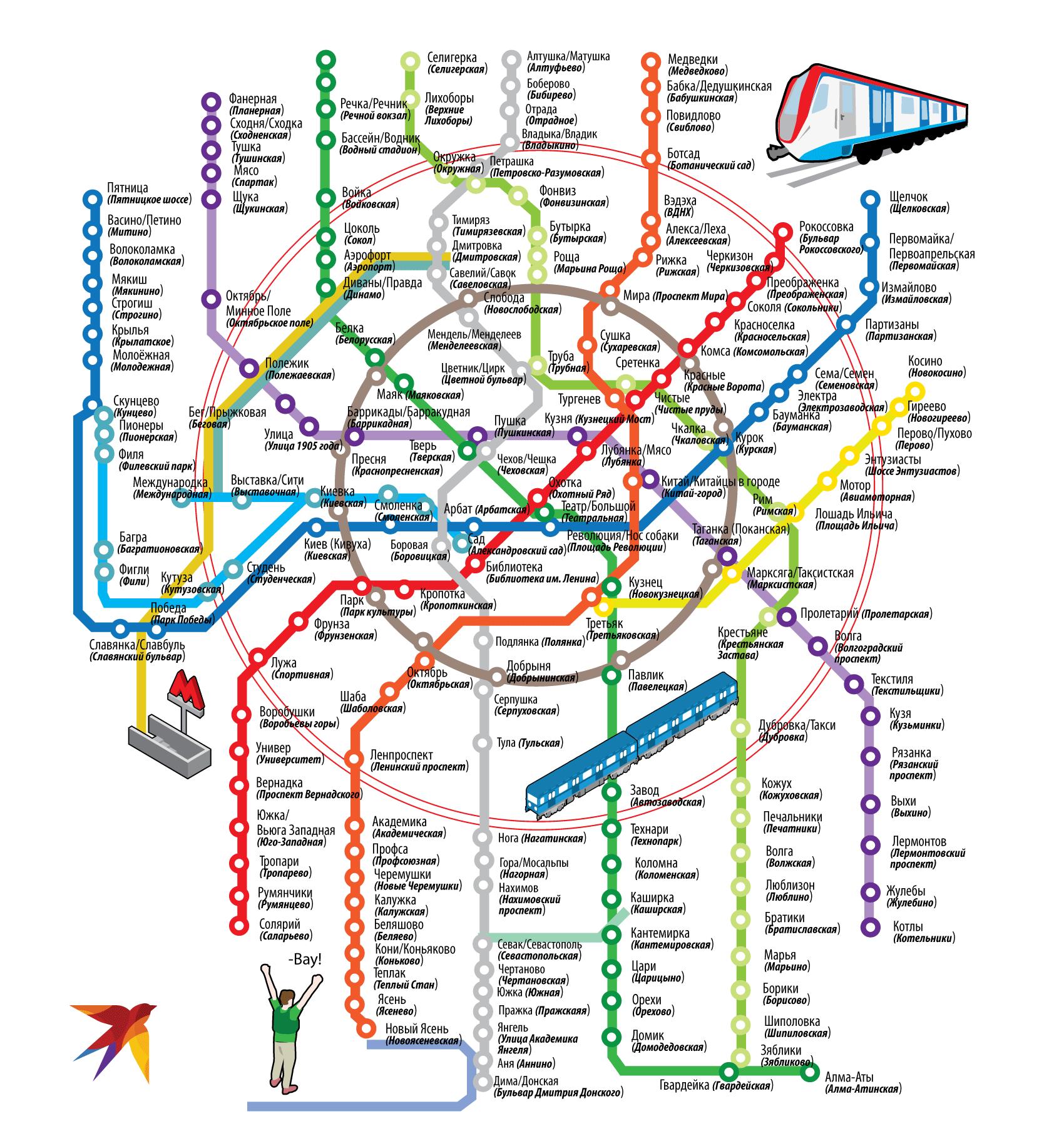 Народная карта метро
