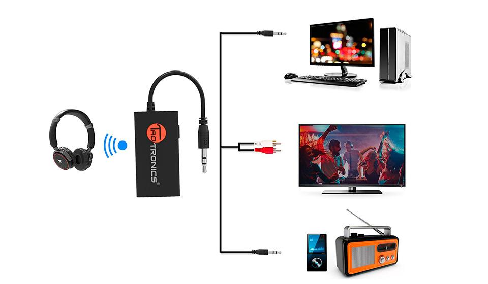 Bluetooth-передатчик Taotronics. Выбирая беспроводные наушники для телефона  ... 25a7d243e6ef0