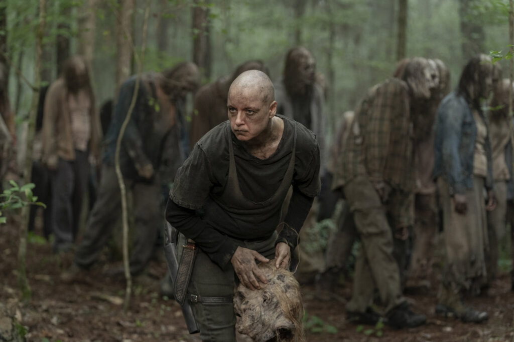 Вышел новый трейлер «Ходячих мертвецов», в котором началась война с Шечущими