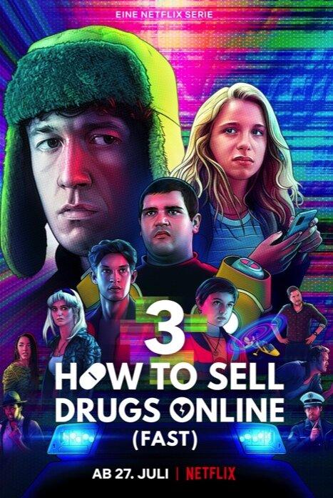 Не пытайтесь это повторить/Как продавать наркотики онлайн (быстро) 3 сезон