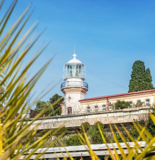 Старый маяк в Сочи