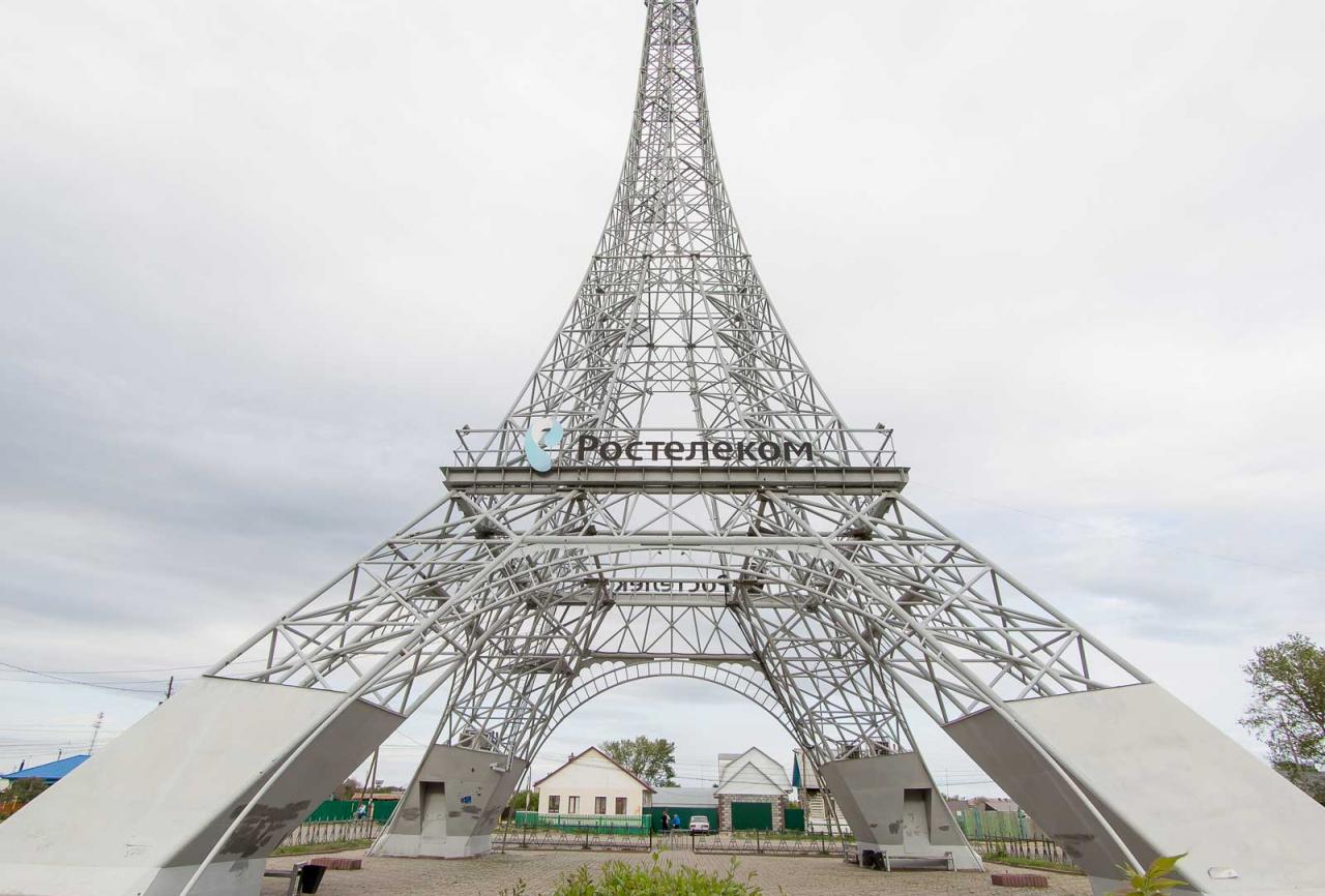 эйфелева башня в селе париж челябинская область