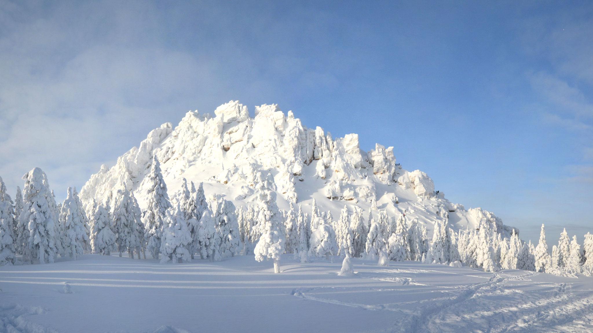 Горная система уральских гор