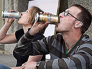 ...штрафы за распитие алкогольных напитков в общественных местах.