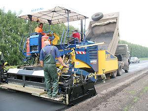 В поселках ремонтируют дороги