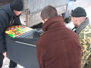 В Белгородской области нашли строительный фургончик девятью игровыми автоматами.