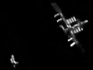 С Земли на МКС открывается фантастическое зрелище