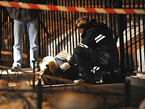 В центре Москвы мужчина застрелил свою возлюбленную, а потом покончил с собой