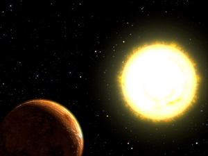 Обнаружена планета, состоящая и материала, плотность которого равна плотности свинца