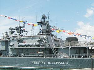 """""""Адмирал Виноградов"""" причалил к родному берегу"""