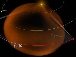 Выброшенная плазма распространяется по всей солнечной системе