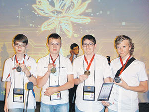 Павел Кунявский, Александр Тимин, Дмитрий Егоров, Егор Суворов