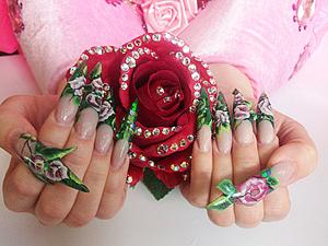 Дизайн ногтей беременным
