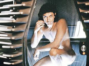 В фантастическом фильме «Муха» при телепортации в аппарат попала муха.