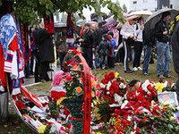 40 дней с трагедии «Локомотива»: на кладбище в Ярославле прошел поминальный молебен