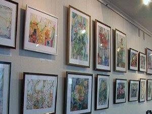 Выставка Валентина Шагинова проходит в Вологде впервые.
