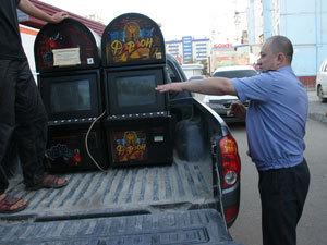 В ходе проведенных мероприятий сыщики изъяли 34 игровых аппарата