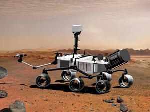 Самоходный робот должен добраться до Марса к августу 2012 года