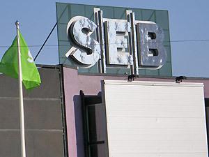 Преступники похитили со счетов шведского банка SEB 50 млн. крон