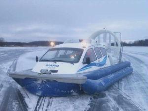 Жителей Тутаева через Волгу будет перевозить катер на воздушной подушке.