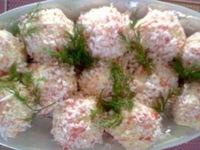 «Рафаэлло» из крабового мяса