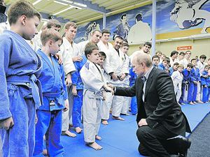 Путин навестил горняков в Кузбассе