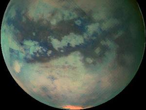 Со стороны Титан - просто копия Земли