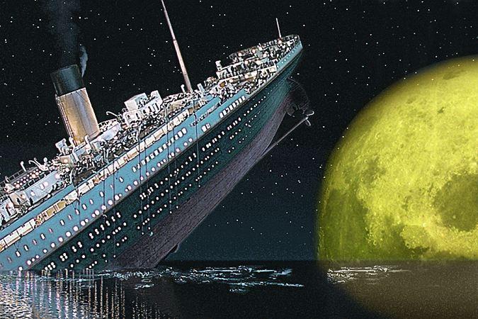 «Титаник» погубила аномальная