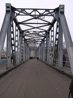 В Кировском районе закроют мост.