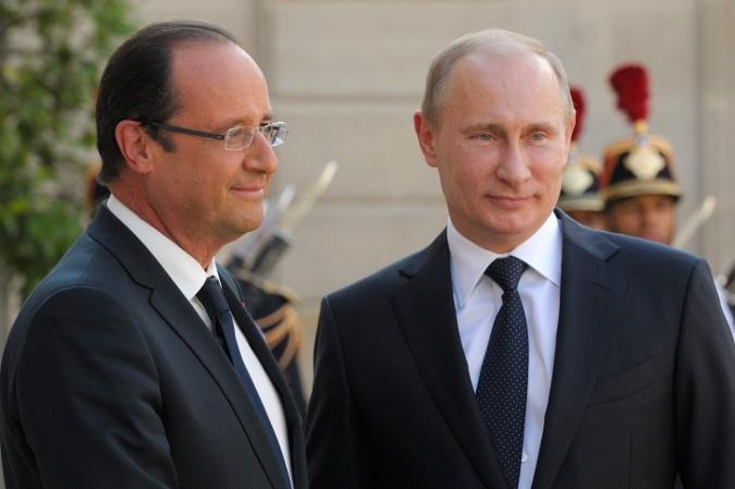 """Путин и Олланд нашли взаимопонимание по многим вопросам """" ARENA.in.ua - СМИ и Новости Украины и Мира"""