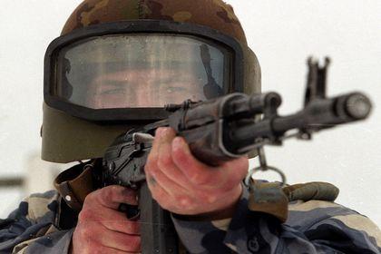 В Чечне поймали боевика, обстрелявшего полицейских