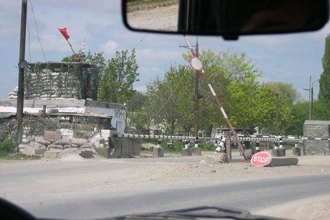 В Чечне приводят в аккуратный вид блокпосты