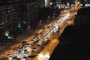 В ноябре Новосибирск уже пять раз вставал в «десятибалльную» пробку