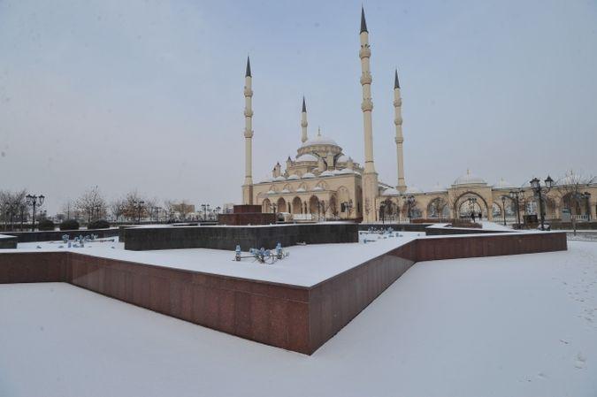 Мечеть имени Ахмата-Хаджи Кадырова в Грозном стала культурным наследием России