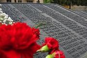 На Мамаевом Кургане открыли стелу с именами 84 ингушских защитников Сталинграда