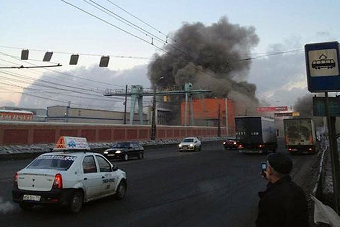 Взрыв метеорита над Челябинском