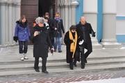 Перед концертом в Уфе Мирей Матье помолилась в храме